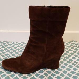 Chocolate Suede Boots